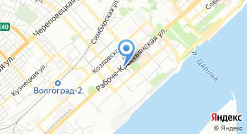 Волгоградский музыкально-драматический казачий театр на карте