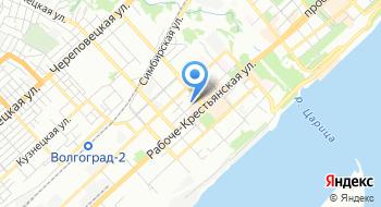 Комитет дорожного хозяйства, благоустройства и охраны окружающей среды Администрации Волгограда на карте