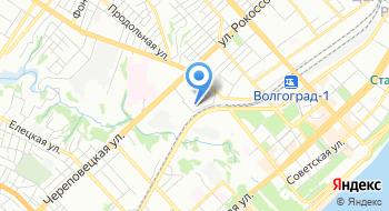 Волгоградский филиал Фку ГЦИТОиС Фсин России на карте