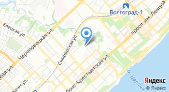 Волгоградская областная детская филармония на карте