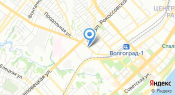 Федеральное казенное учреждение МСЧ МВД России по Волгоградской области на карте