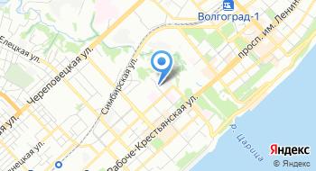 Деловой Волгоград на карте