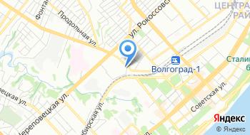 ФКУ СИЗО-1 УФСИН России по Волгоградской области на карте