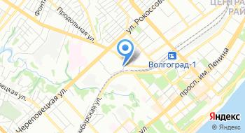 Государственное автономное учреждение Профессиональная образовательная организация Волгоградский учебно-курсовой комбинат на карте