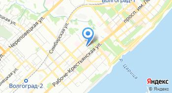Администрация Волжского бассейна филиал Волгоградский район водных путей и судоходства на карте
