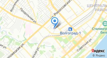 Избирательная комиссия Волгоградской области на карте
