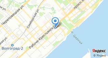Волгоградская областная клиническая больница №3 на карте