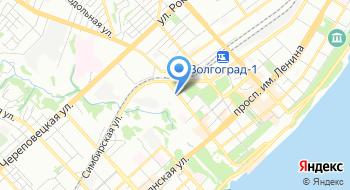 Управление Федеральной Службы Безопасности России по Волгоградской области на карте