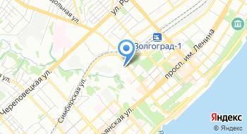 Главное Управление МВД России по Волгоградской области на карте
