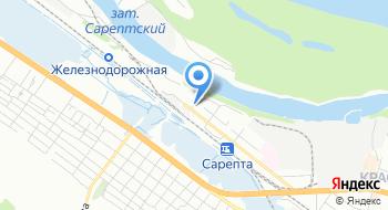 ВРК-2 Вагонно-ремонтное депо Сарепта на карте