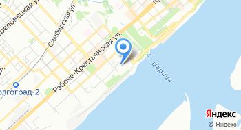 Волгоградский консалтинговый центр Вектор на карте