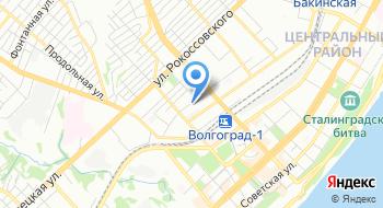 Управление эксплуатации Волгоградского водохранилища ФГУ на карте