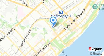 Территориальный орган Росздравнадзор по Волгоградской области на карте