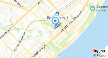 Волгоградская консерватория имени П.А. Серебрякова на карте
