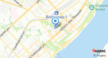 Волгоградские радио сети на карте