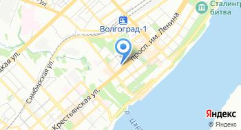 Объедененный визовый центр на карте