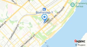Волгоградский инструментальный завод тракторных машин на карте