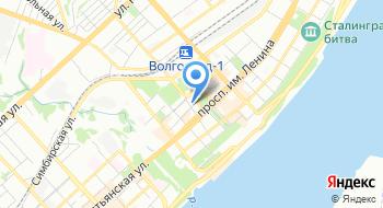 Отель Волгоград на карте
