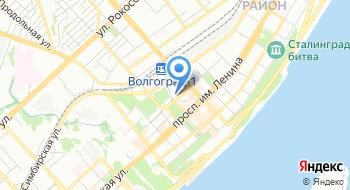 Отделение почтовой связи Волгоград 400066 на карте