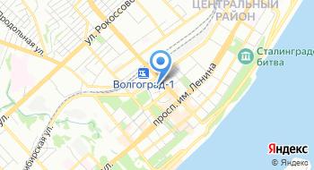 Волгоградский филиал РЭУ им. Г.В. Плеханова на карте