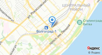Волгоградская областная общественная организация Федерация парашютного спорта на карте