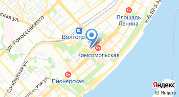 Автоломбард в Волгограде на карте
