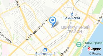 Специализированная детско-юношеская спортивная школа олимпийского резерва №7 города Волгограда на карте