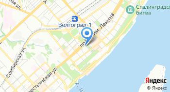 Волгоград-рти на карте