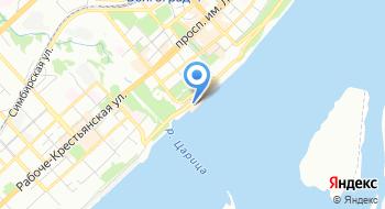 Волгоградская областная филармония на карте