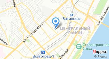 Спортивное Телевидение Волгограда, ТРК на карте