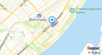 Врачебный здравпункт отделение Волгограда Южного ГУ Центрального банка РФ на карте