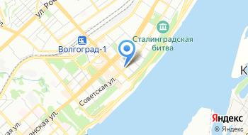 Дирекция по обеспечению деятельности государственных учреждений здравоохранения Волгоградской области на карте