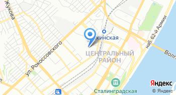 МУП Горводоканал города Волгограда на карте