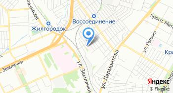 Волгоградская областная детская клиническая больница, реабилитация на карте