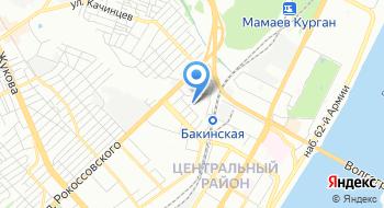 Саката-Волга на карте