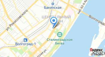 ФГБУКИ Дом Офицеров Волгоградского Гарнизона на карте