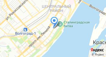Волгоградский государственный технический университет на карте