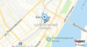 ГАУЗ Волгоградская клиническая стоматологическая поликлиника на карте