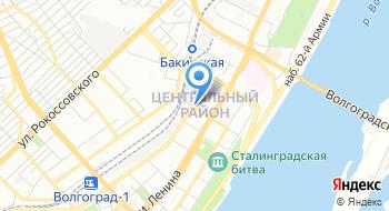 Патронажная служба Каритас Волгоград на карте
