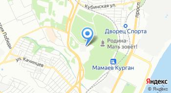 Телевизионный передающий центр Волгоград на карте