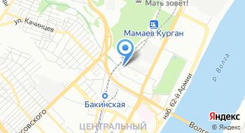 Волгоградский выставочный центр Регион на карте