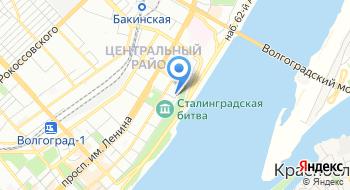 Волгоградская областная клиническая стоматологическая поликлиника Отдел терапии на карте