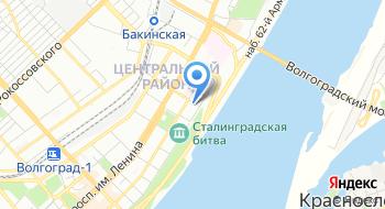 Единый нотариальный архив нотариальной палаты Волгоградской области на карте