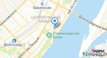ГБУЗ Волгоградская областная клиническая психиатрическая больница № 2, Диспансерное отделение 2 на карте