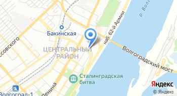 Информационный сайт Волгограда V1.ru на карте