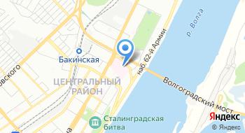 Волгоградская областная детская клиническая инфекционная больница на карте