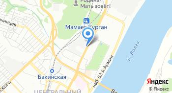 ТПК МеталлПроект - Волга на карте
