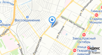 Детская поликлиника №1, филиал на карте