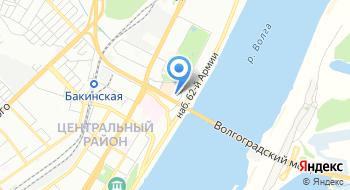 Визовый центр Греции и Чехии на карте