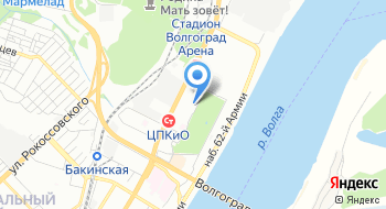 Транспортная компания Аллегро Волгоград на карте
